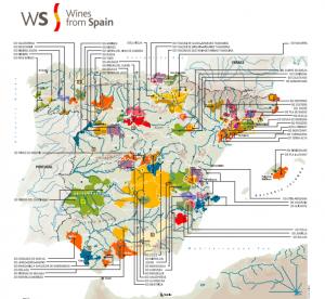 ursprung-Spanien-vinkarta-over-DO-och-DOa