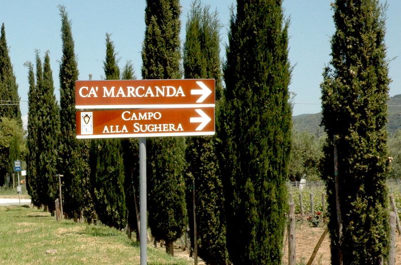 Ca'Marcanda i Bolgheri Toscana.Ca'Marcanda-Bolgheri-Gaia-Gaja-Vinbanken