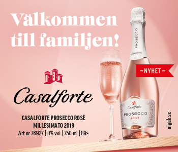 Casalforte Prosecco Rosé Vinbanken
