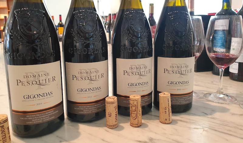 Minivertikal med-Domaine-du-Pesquier-fran-Gigondas-vinbanken
