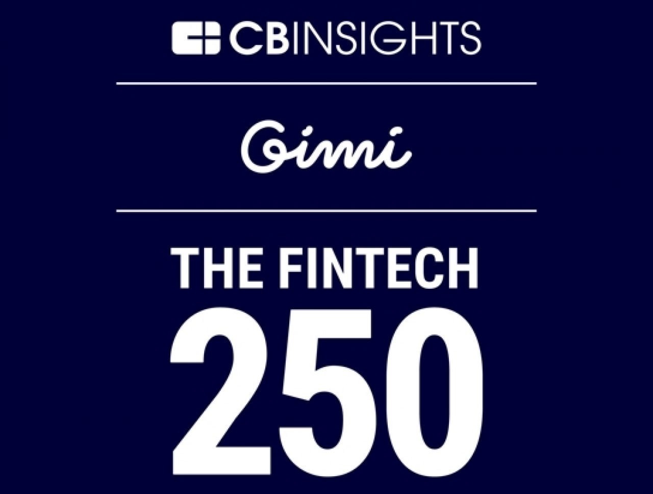 Image for Gimi Joins Prestigious Fintech 250