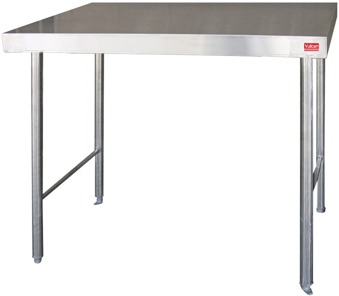 Stainless Steel Table with Plain Top