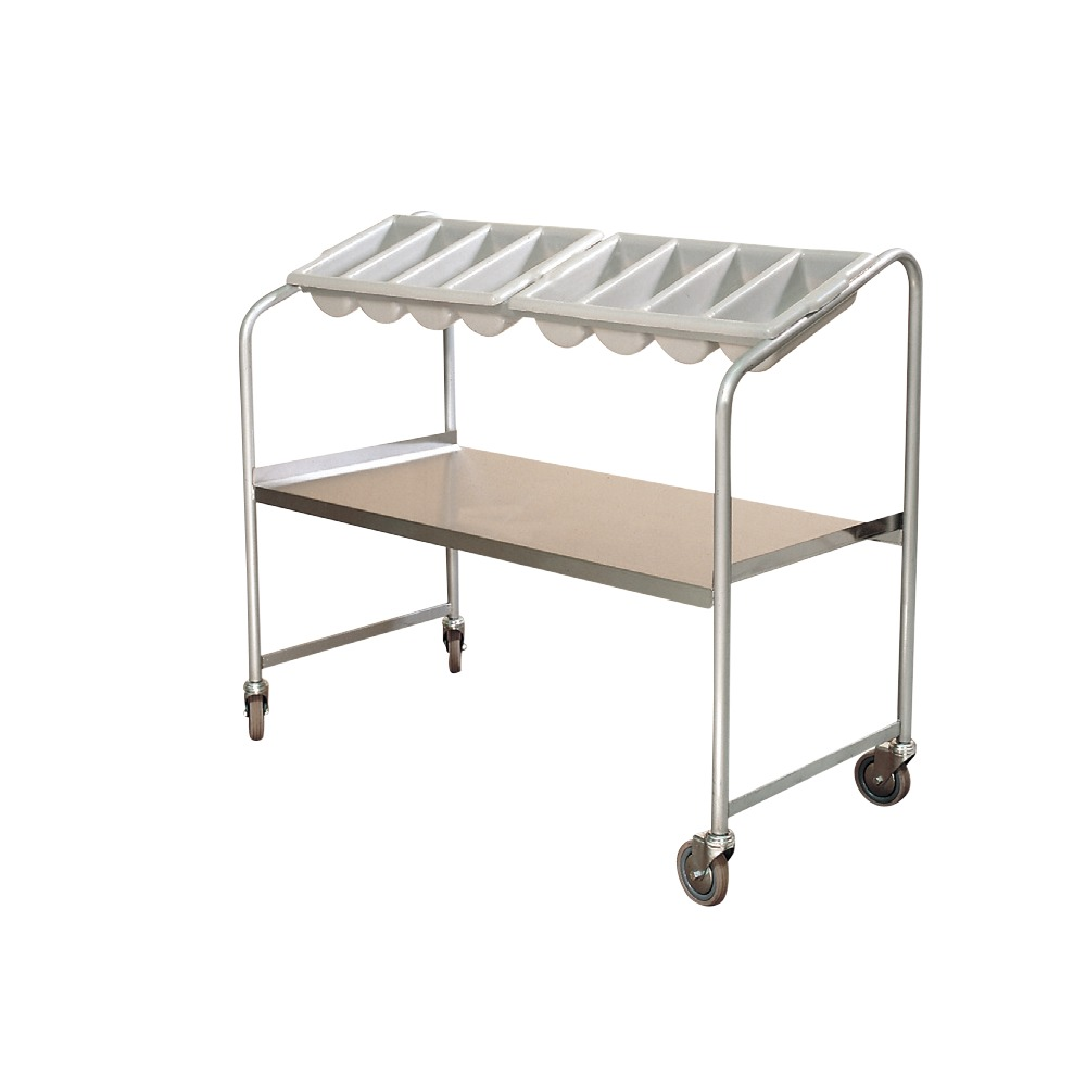 Tray and Cutlery Trolley TCT