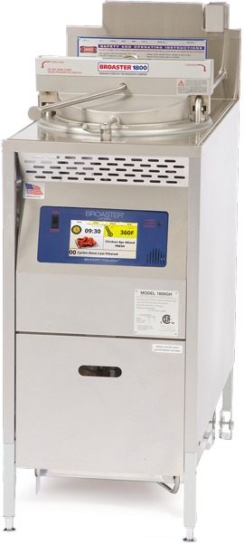 Pressure Fryers - 1600, 1800 and 2400 Series