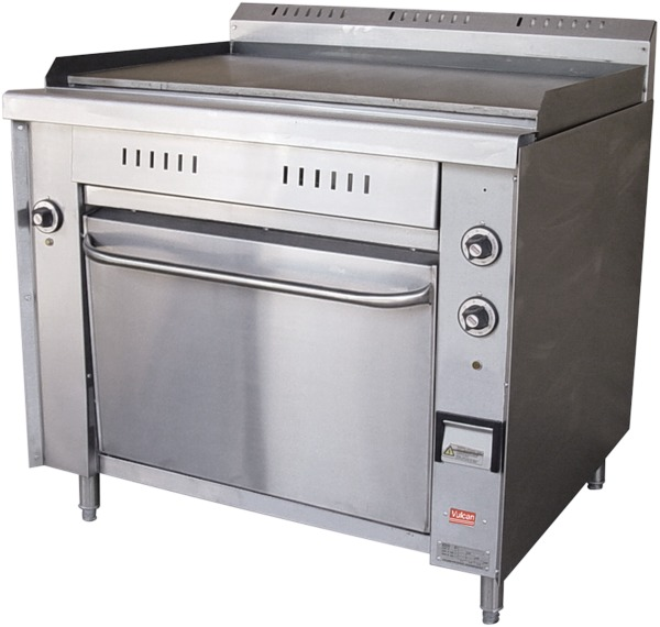 R-E/GT Griddle Top Electrical Range with Oven