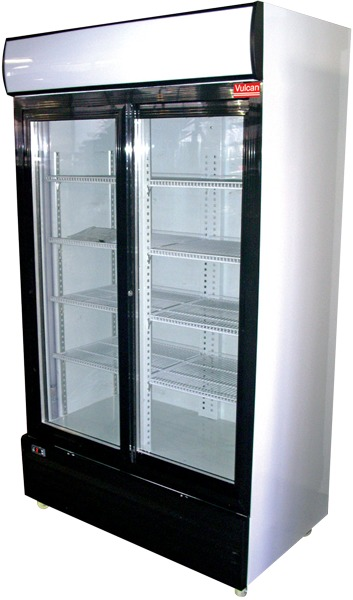 Vulcan Upright Coolers - Sliding Doors