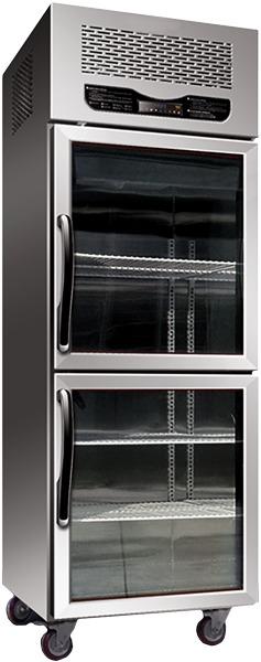 Upright Half Door Display Refrigerators - RD Series