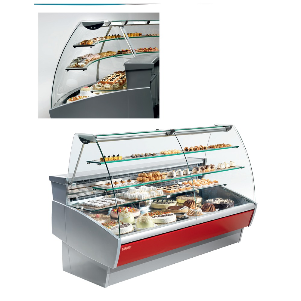 Plug-in refrigerated Cabinets - Serve Over Counter