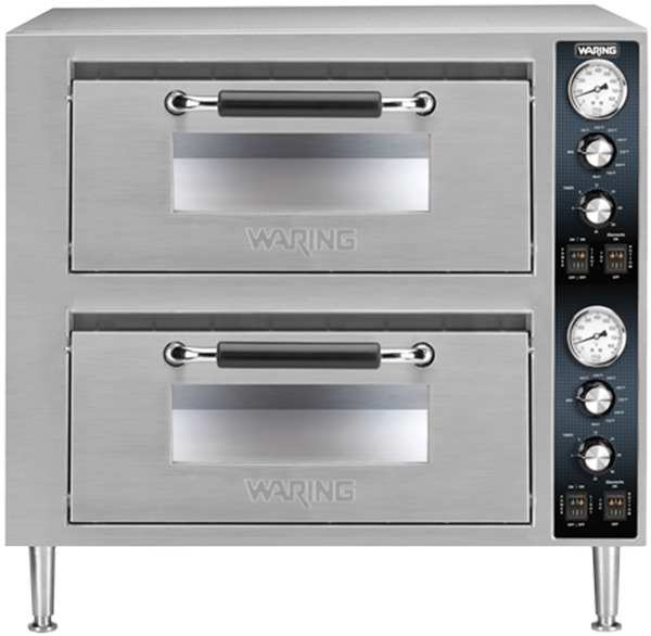 Waring Double Deck Pizza Ovens
