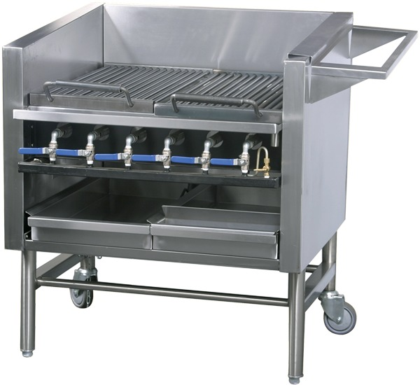 RGB-6 Chargrill/Broiler - Gas