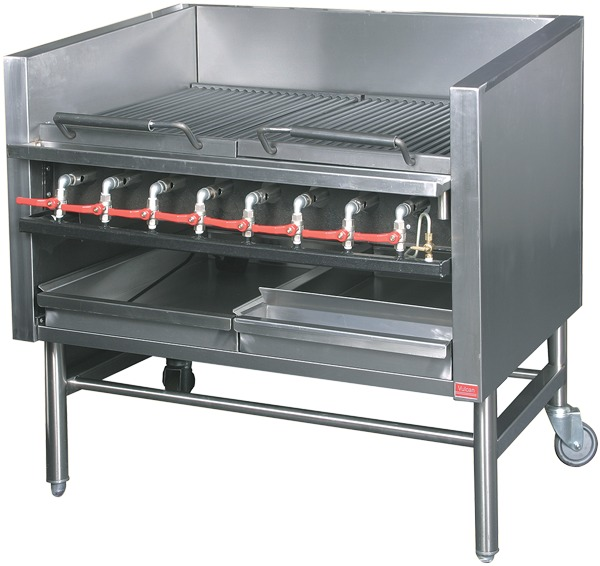 RGB-8 Chargrill/Broiler - Gas