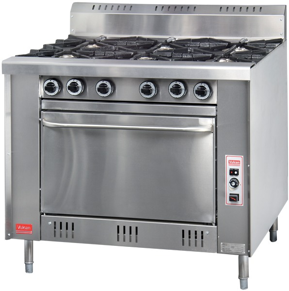 R-G6 - 6 Open Burner Gas Range with Oven