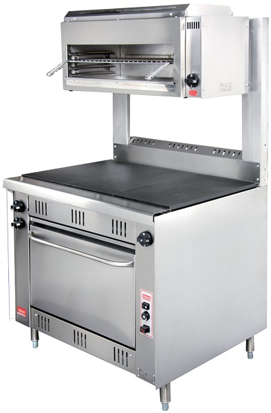 R-G3 - 3 Solid Top Gas Range with Oven