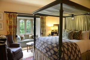 Bedroom at the Manor House Hotel