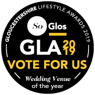 SoGlos GLA Vote for Us - Wedding Venue