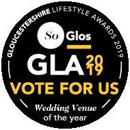 SoGlos GLA Vote for Us - Wedding Venue