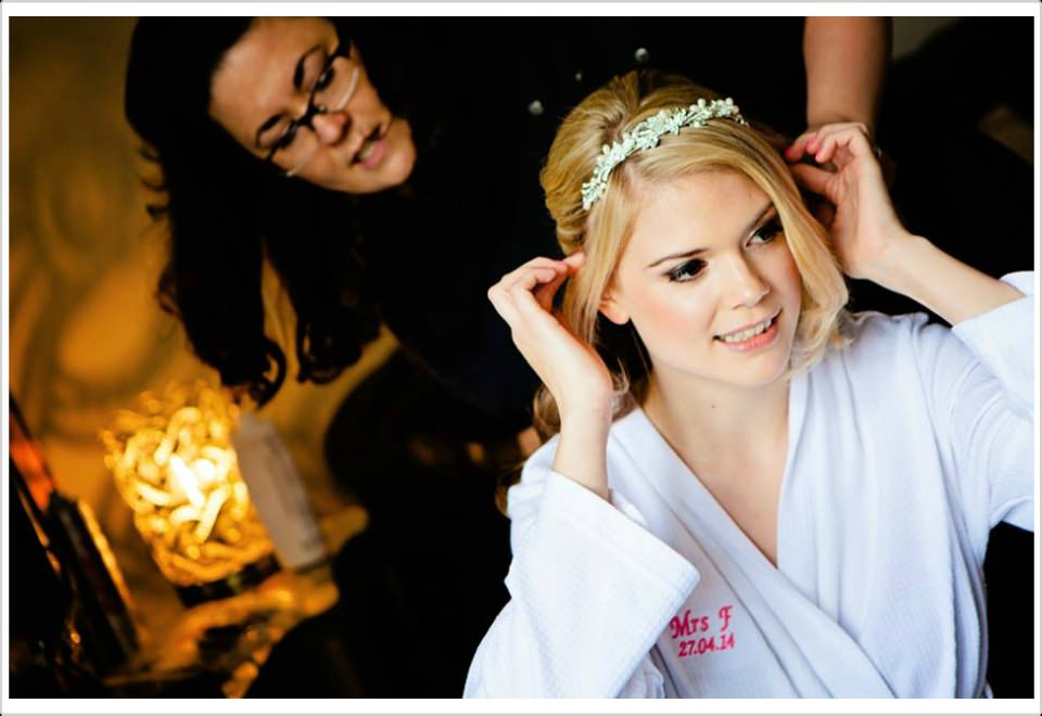 amelia wedding hair and makeup artist in norwich