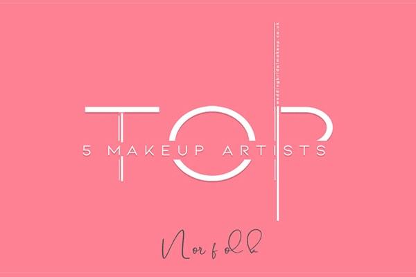 top 5 wedding makeup artists norwich