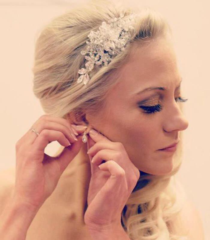 hair pieces wedding bridal