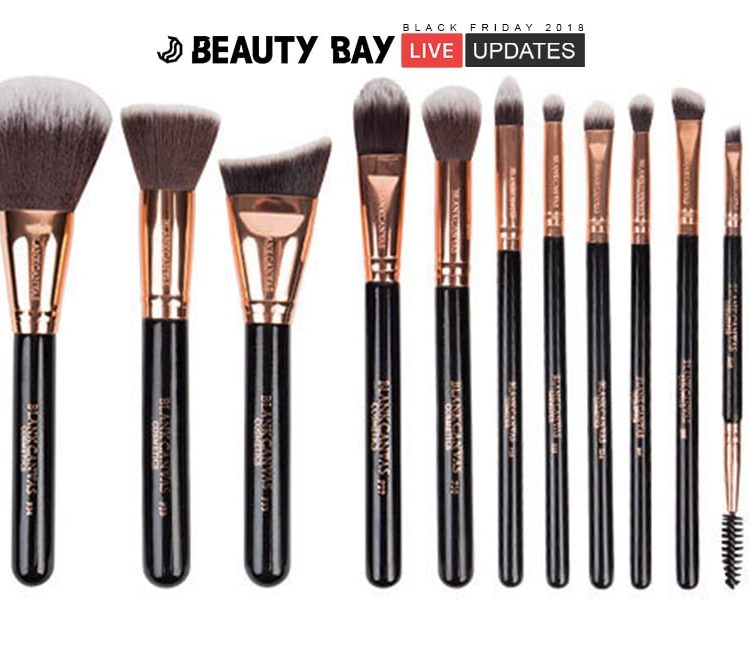 [Worth £107.50] Buy now for £48.99 - 12 Piece Face & Eye Brush Set