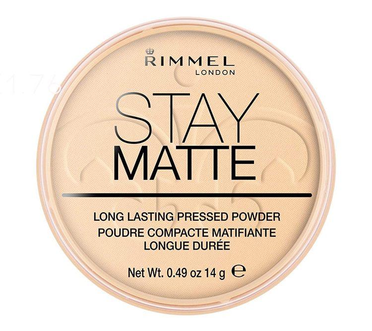 Rimmel London Stay Matte Pressed Powder [ £1.76 Today ]