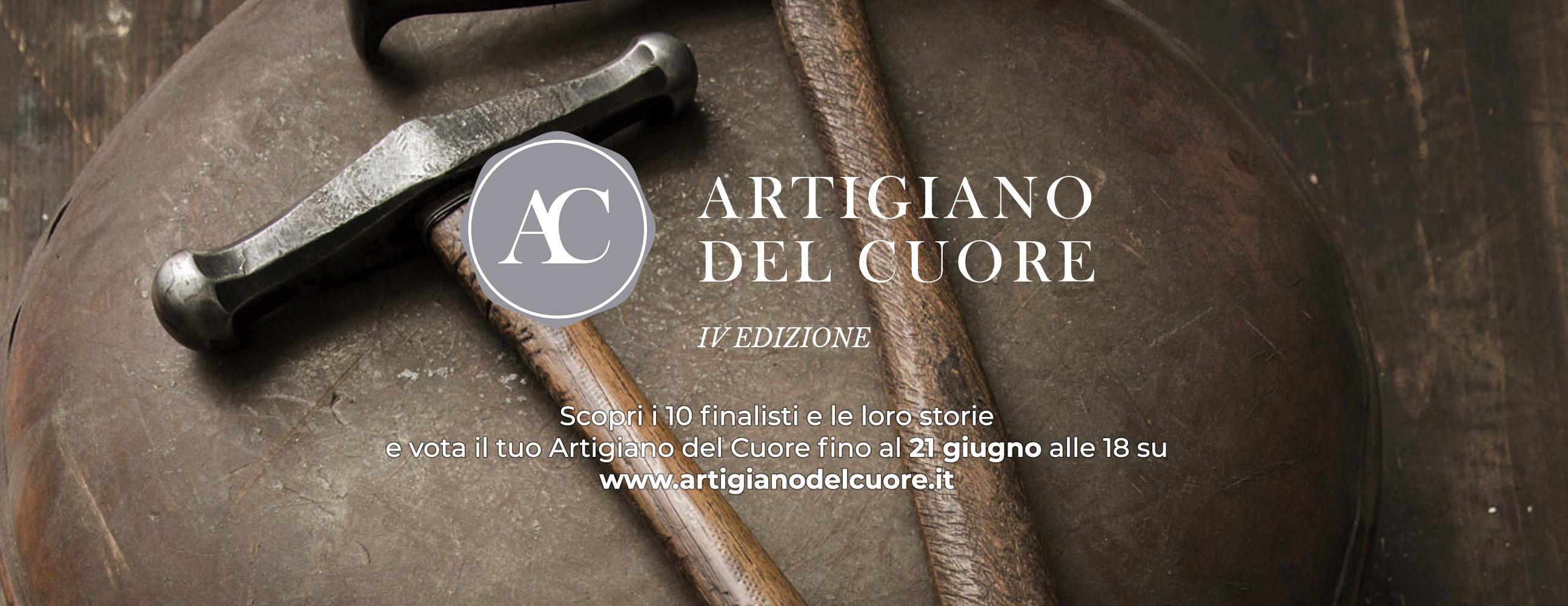 Artigiano del Cuore 2021: vi presentiamo i 10 finalisti