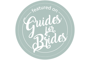 Featured on Guides for Brides 2021