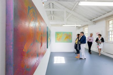 Explore the Visual Arts studio at West Dean College of Arts and Conservation