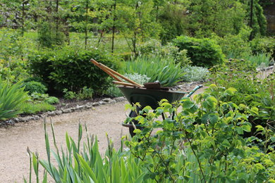 The Walled Fruit and Kitchen Garden at West Dean Gardens, West Sussex