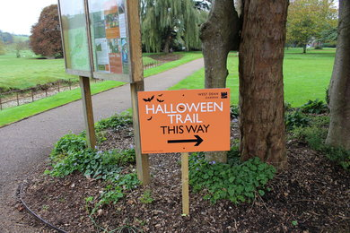Halloween event at West Dean Gardens