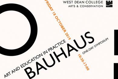 Bauhaus: Art and Education in Practice Symposium 2019