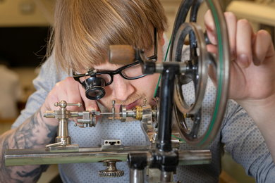 Conservation of Clocks at West Dean College Credit Chris Ison