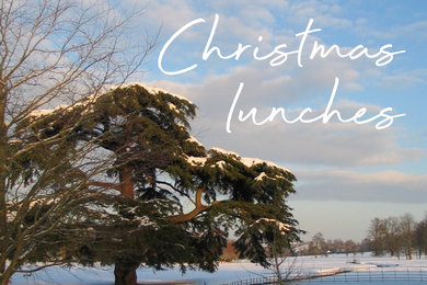 Christmas lunches in the West Dean Gardens Restaurant