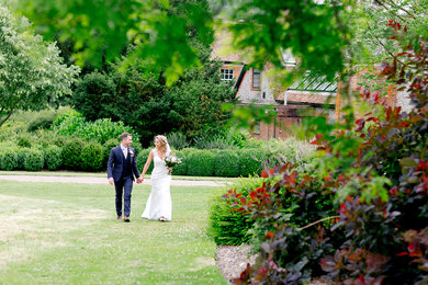 Wedding receptions at West Dean Gardens
