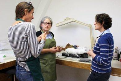 Student Blog - Conservation of Nativity ceramic figures