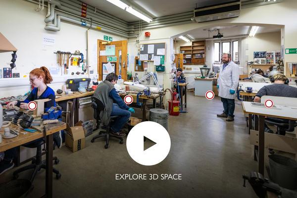 Virtual Tour of workshops