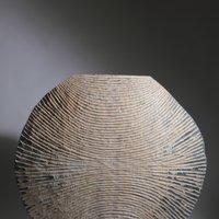 Malcolm Martin: round carved vessel