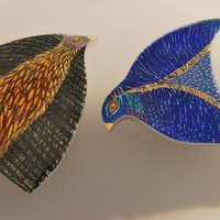 Sheila R McDonald Bird Brooches