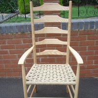 Ladderback chair making short course at West Dean College with Tutor Phil Shipley
