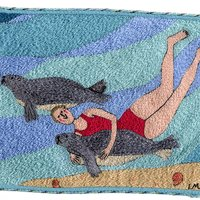 Linda Miller Seas and Shells Textiles