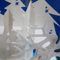 Tracey Bush Winter Paper Crafts