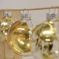 Judy Wetherall gilded bauble