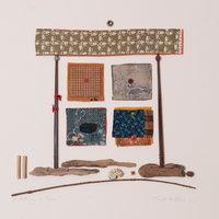 Janet Bolton hand sewn narrative textiles