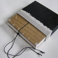 Susan Hufton coptic notebook in a case