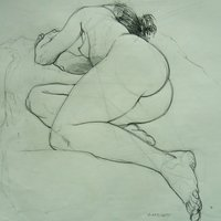 Andrew Fitchett life drawing