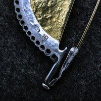 Janos Gabor Varga iron jewellery