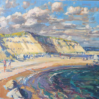 George Popesco coastal painting