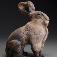 Susan Halls animal sculpting