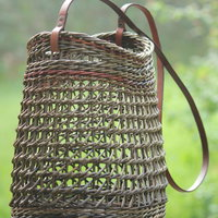 Anne Mette Hjornholm purse with Irish weave