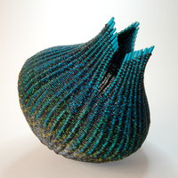 Mary Crabb textile basketry